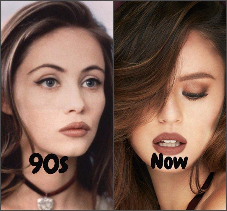90s Makeup Trends Still Rock In 2019 Brown Lipstick Makeup 90s