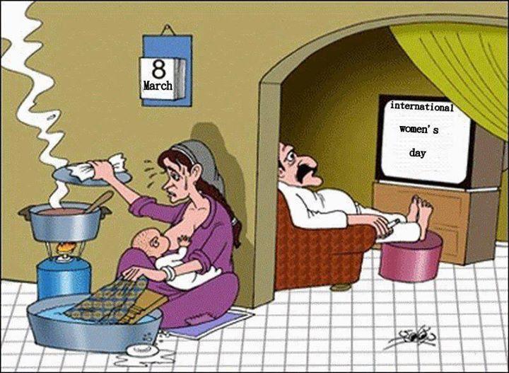 Women Day! :( | Caricature, Dessin humoristique, Humour
