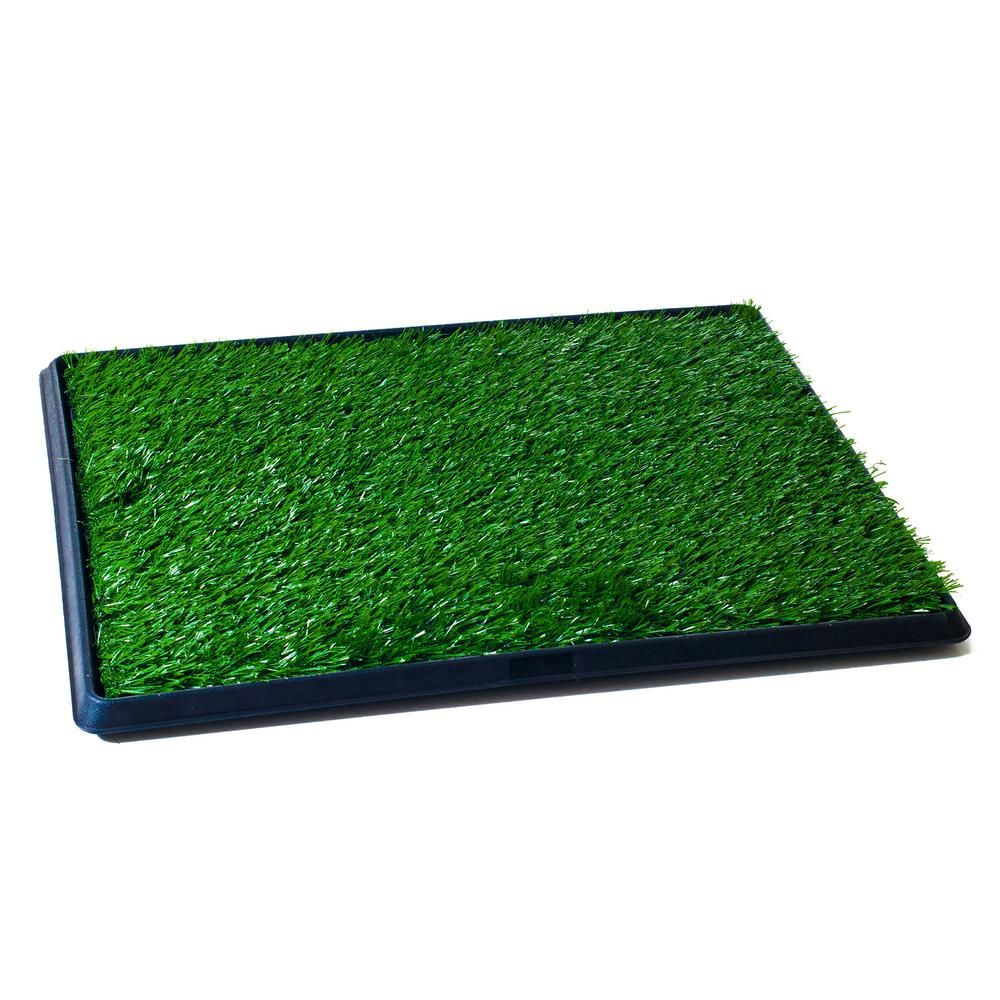 Petmaker Medium Puppy Potty Trainer Artificial Grass Mat W320171 In 2020 Dog Toilet Potty Trainer Puppies