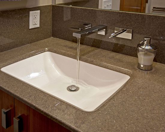 Faucets Coming From Wall With Images Bathroom Sink Design