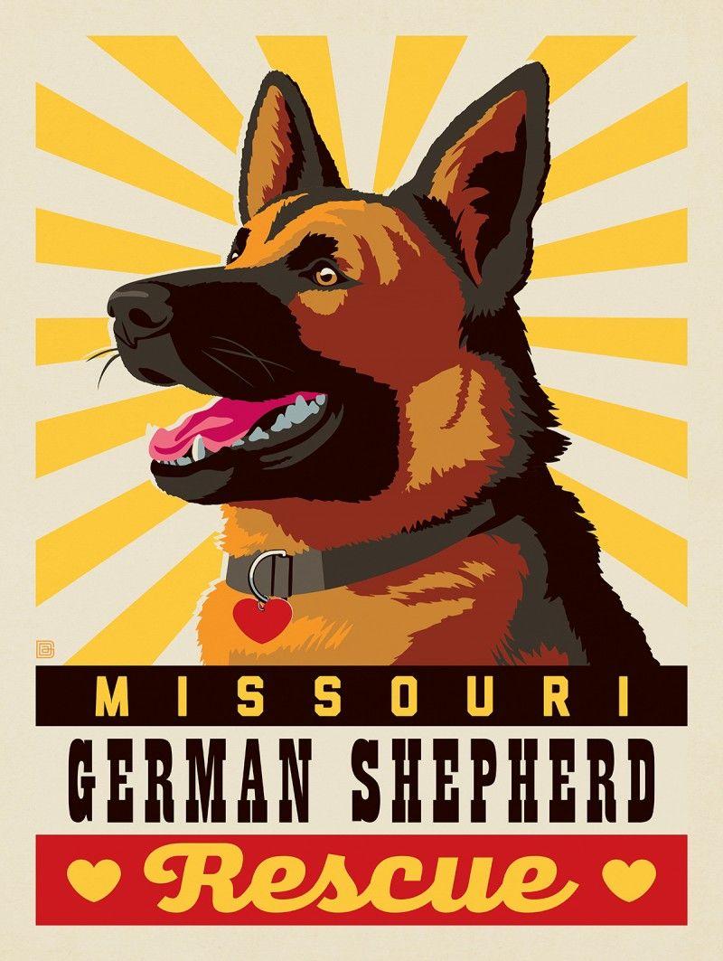 2019 Missouri German Shepherd Rescue Hope Anderson Design Group