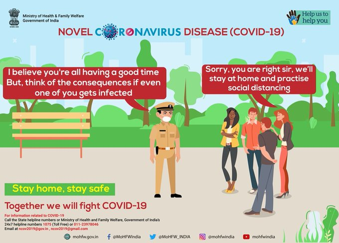 Ministry of Health 🇮🇳 StayHome StaySafe (MoHFW_INDIA