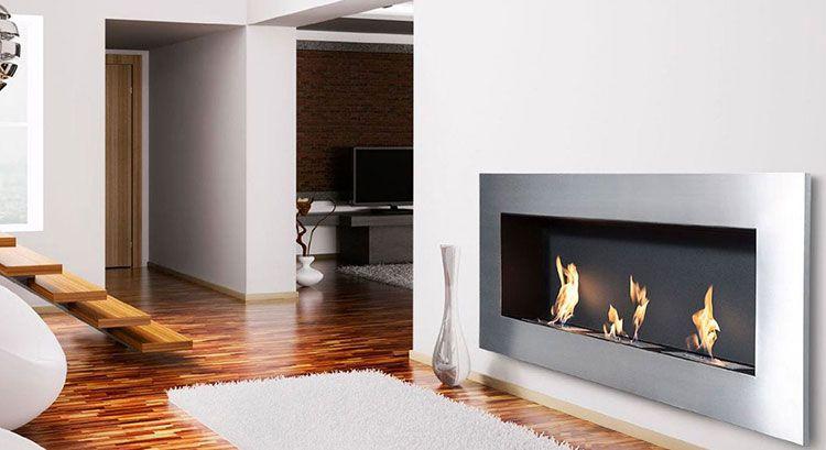 20 modelli di camini a bioetanolo da parete a incasso camini design bioethanol fireplace - Camini bioetanolo design ...