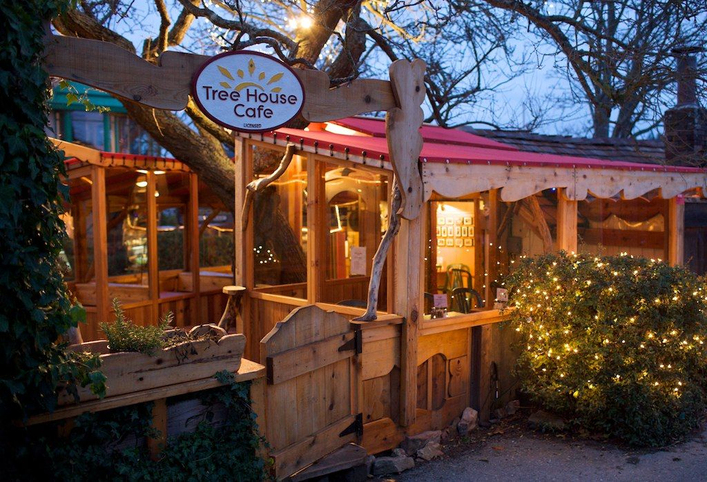 treehouse cafe salt spring island