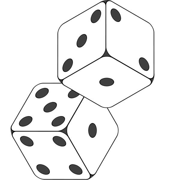Dice Black White Drawing Dice Tattoo Black And White Drawing Tattoo Stencils