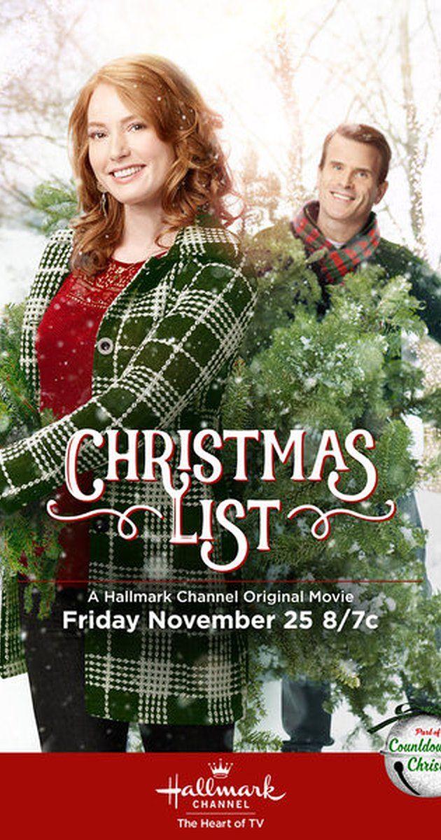Christmas List - 2016 - Seen it.   Hallmark Movies - guilty pleasure ...
