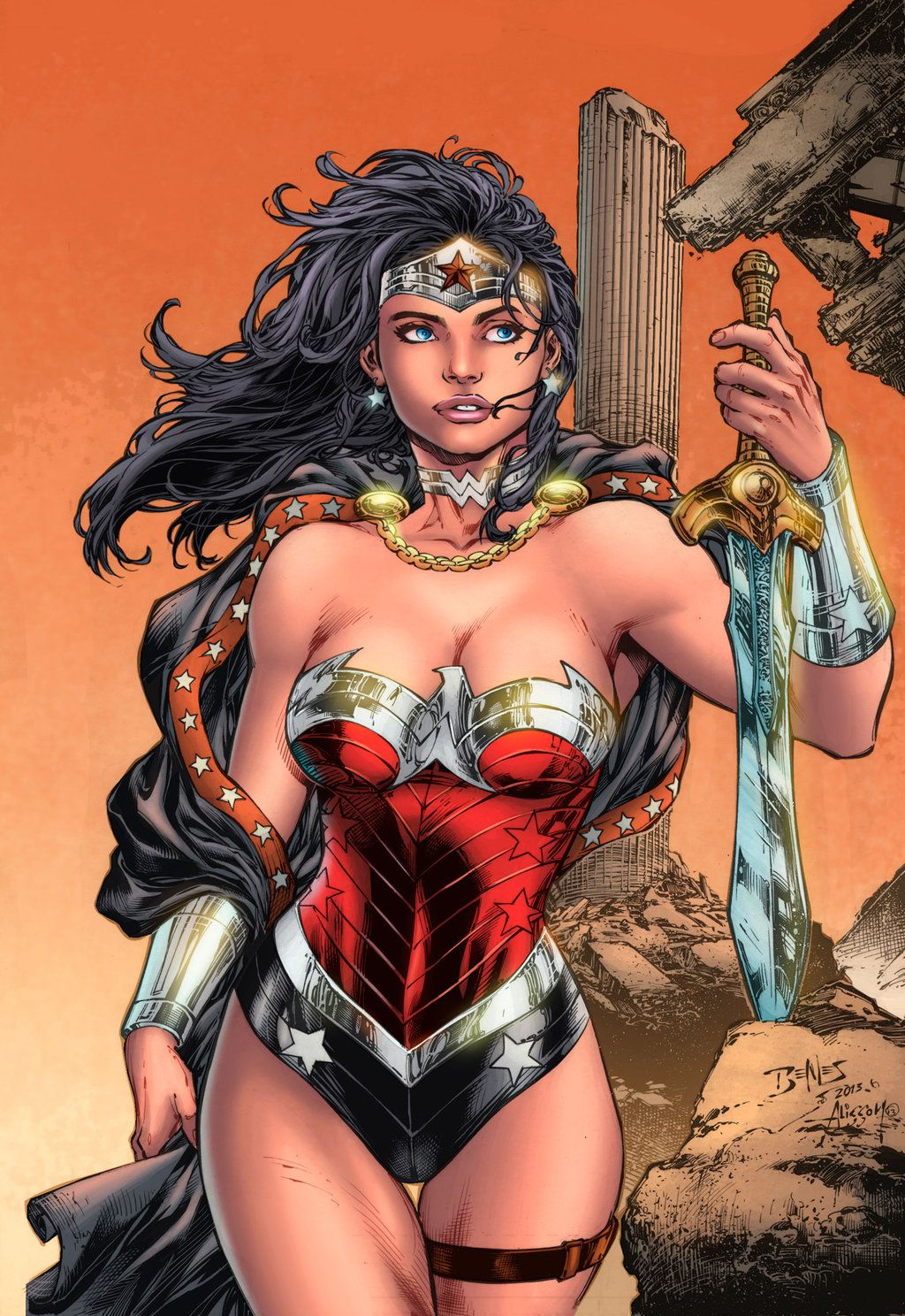 Wonder Woman Sample Colors By Apalomaro Dc Heroes Villains