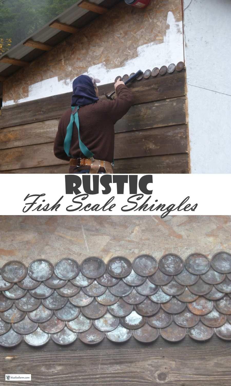 Best Rustic Fish Scale Shingles Classic Cedar Shingle Pattern 400 x 300