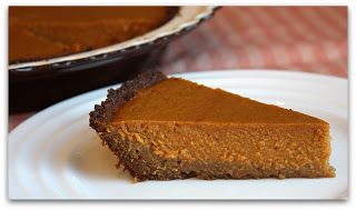 Sweet Potato Pie with Gingersnap Crust | Live, Laugh, Love and EAT :O)