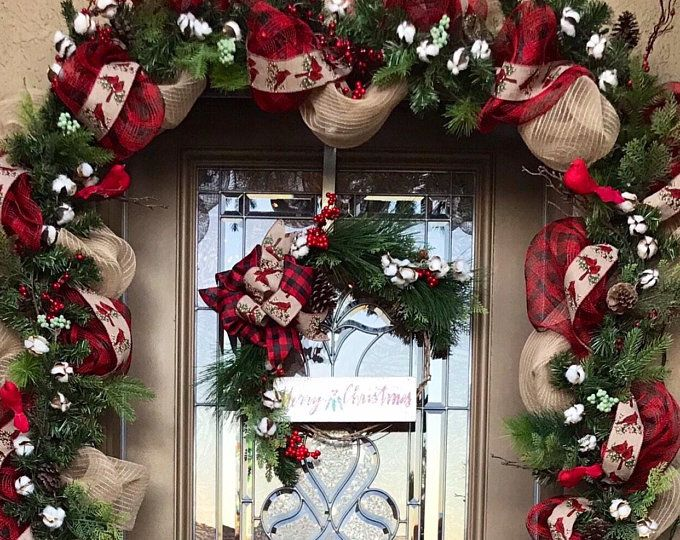Set Of 2 Christmas Wreath Red Poinsettia Free Shipping Christmas Garland Cordless Pre Lit Original Decoracion Navidad Balcones Decoracion Puertas Navidad Decoracion Exterior Navidad