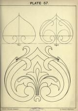 Cusack's freehand ornament. A text book with chapters on elements, principles, and methods of freehand drawing, for the general use of teachers and students ..
