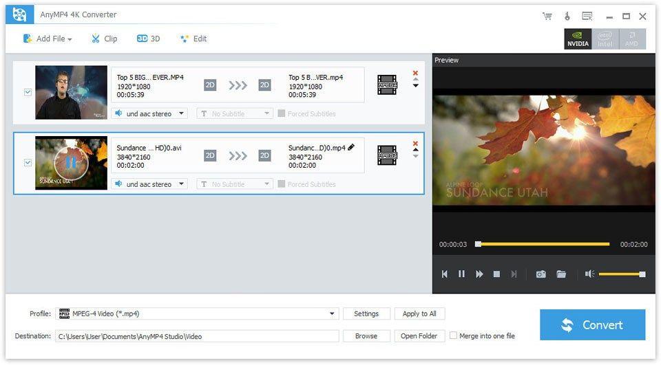 Anymp4 4k Converter 6 0 70 Incl Patch Video Converter