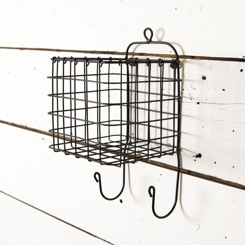 Hanging Wire Caddy | Cozy 1 bedroom apartment | Pinterest | Rustic ...
