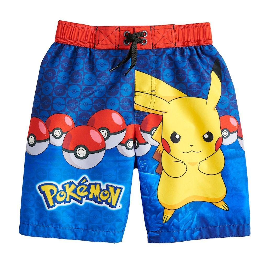 d278126b6e Boys 4-7 Pokemon Pikachu Swim Trunks | Products | Boys swim trunks ...