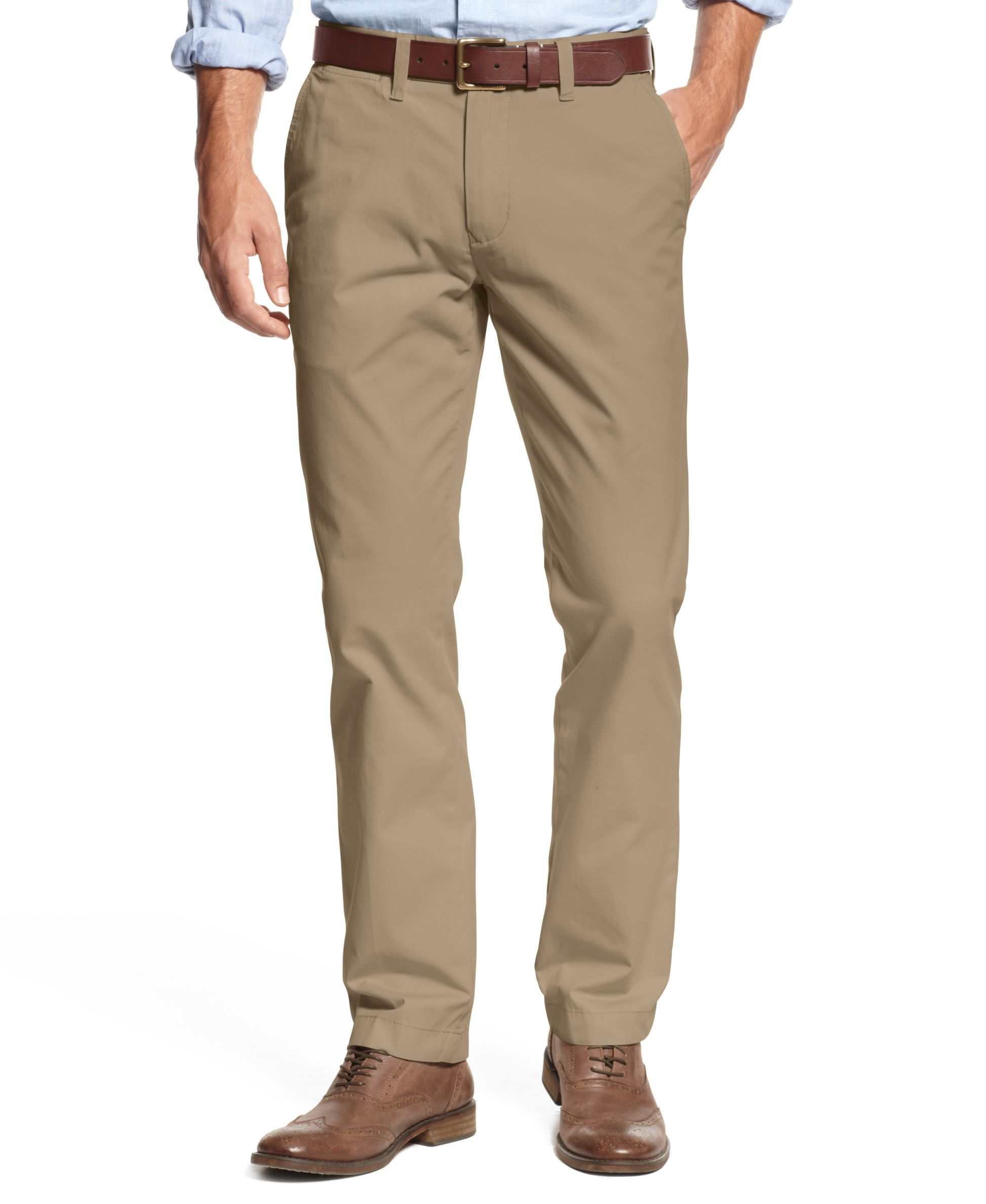 51fc6428 Men's TH Flex Stretch Slim-Fit Chino Pants, Created for Macy's | My ...