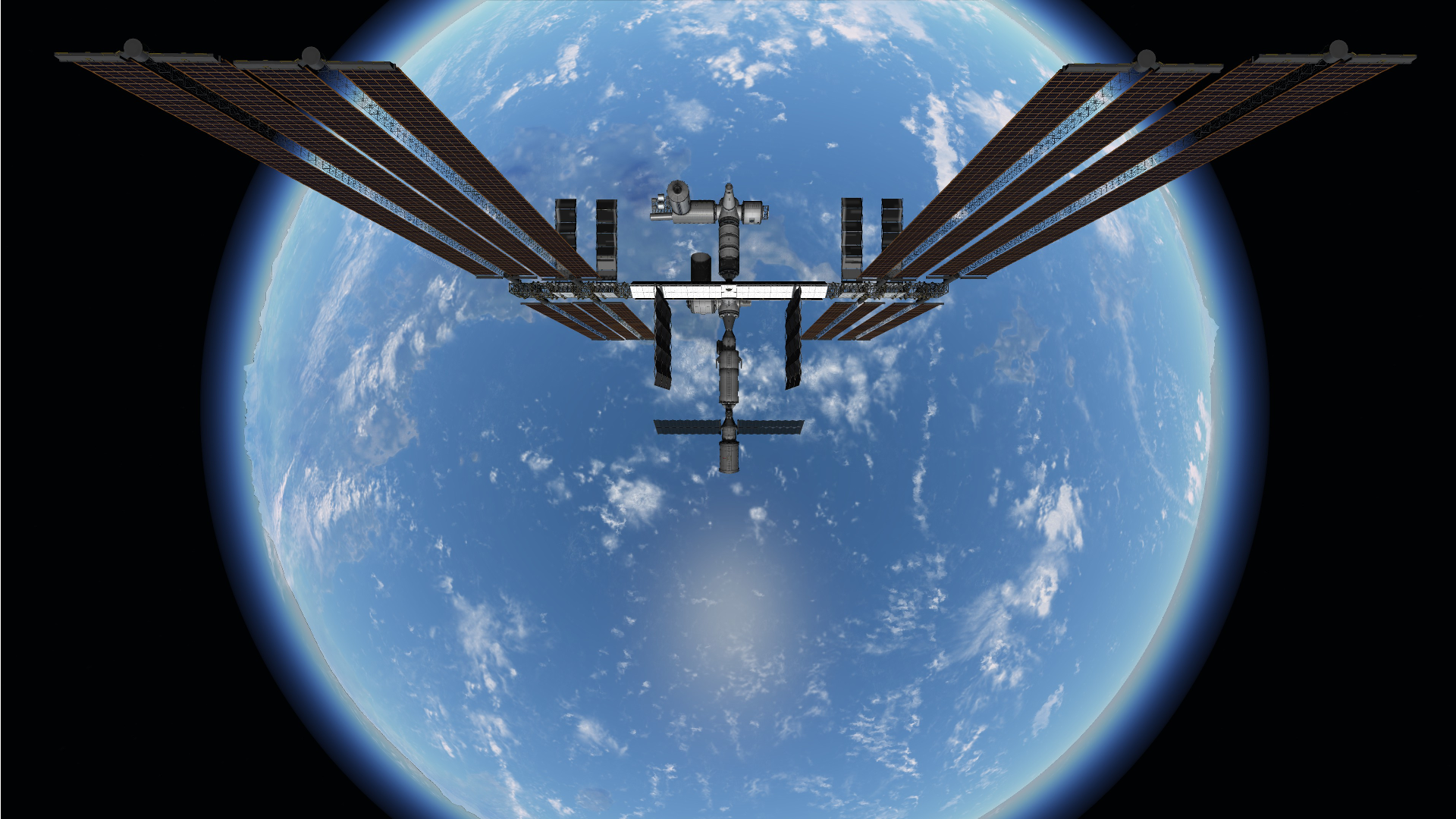 Iss Wallpapers Hd: 1920x1080 And 3840x2160 (4K) ISS Wallpapers