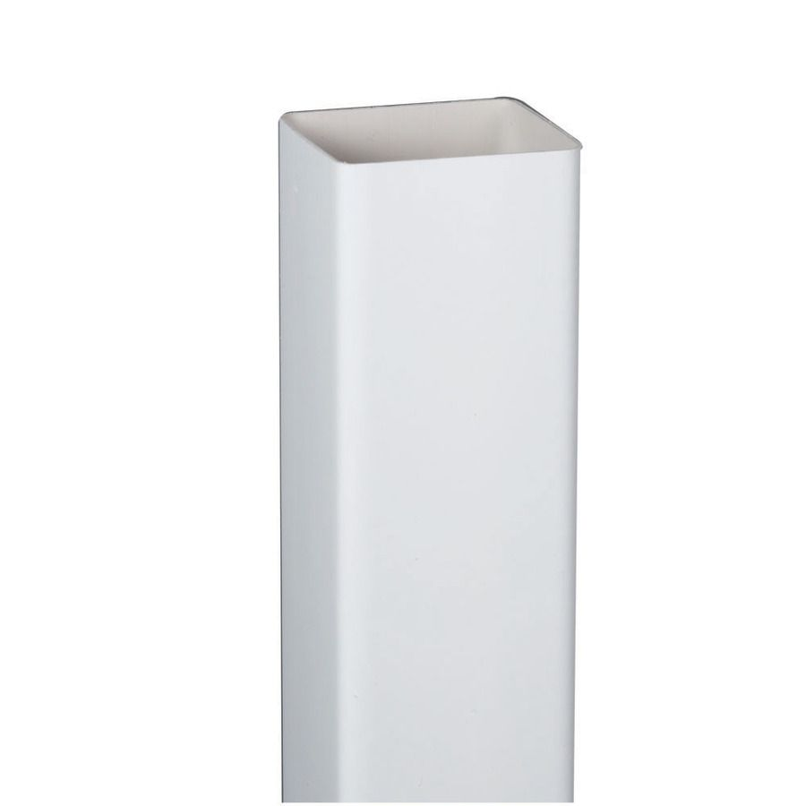 Amerimax Contemporary 120 In White Downspout At Lowes Com Horse Training White Vinyl Lowes Contemporary
