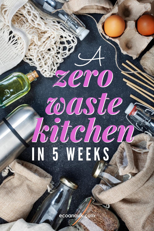 5 weeks to setting up a zero waste kitchen eco anouk in 2020 zero waste kitchen eco on kitchen organization zero waste id=64737