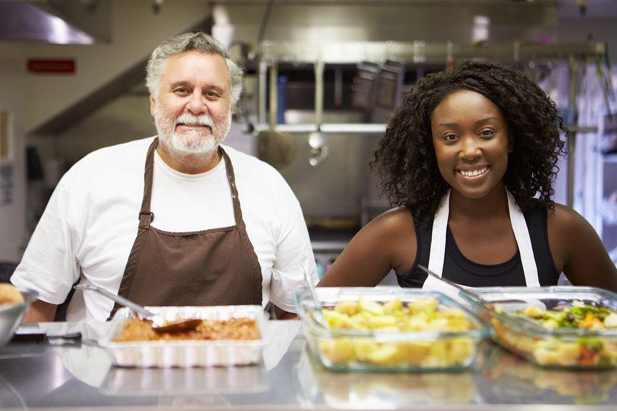10 Best Jobs After Retirement Food Bank Volunteer Foods
