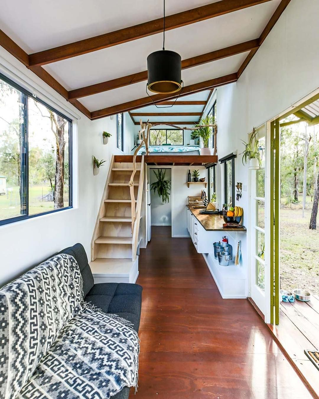 New Video Live Today Of This Stunning Eco Tiny House In Australia Check It Out Link In Story Tiny House Living Room Tiny House Design Simple House Design