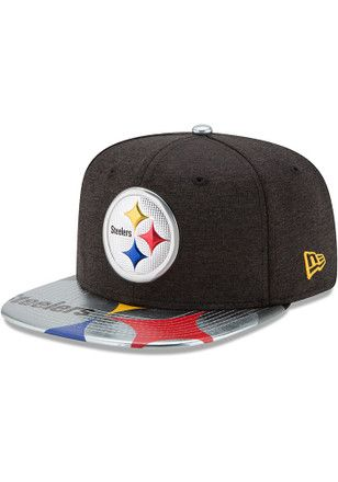 New Era Pitt Steelers Black 2017 On-Stage 9FIFTY Snapback Hat  90fbad360