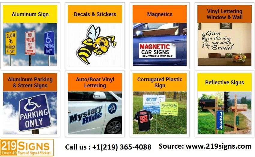 Now In The Comfort Of Your Home You Can Design Signs Online Because 219signs Company With More Than 35 Years Exp Sign Design Custom Yard Signs Reflective Sign