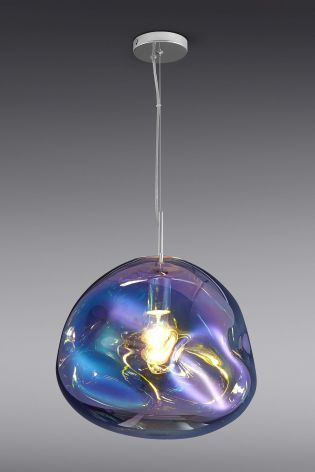 Buy Fluid Iridescent Glass Pendant from the Next UK online