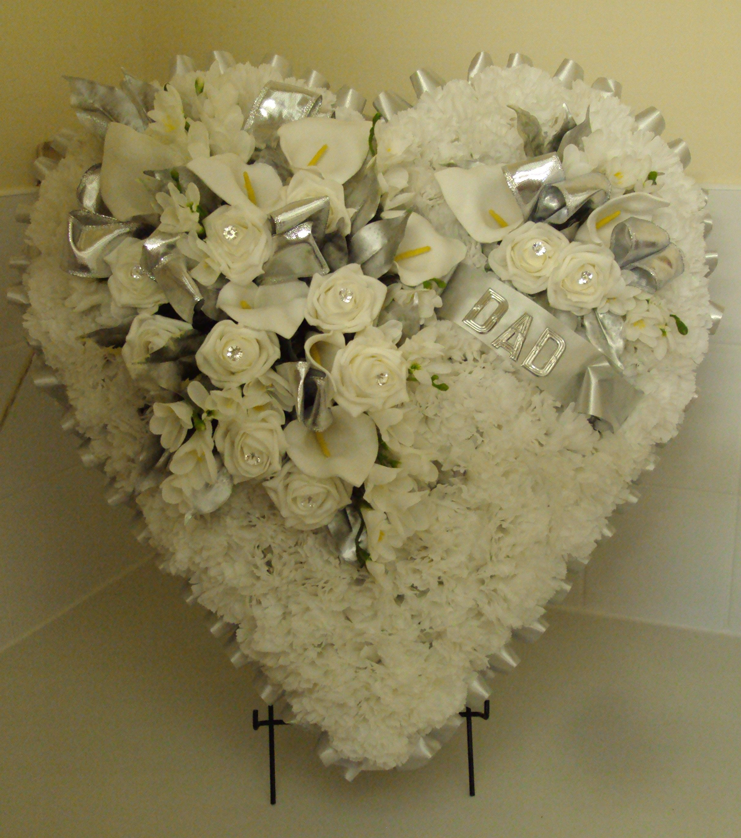 Heart In Silver And White With Name Beautiful Ideas Pinterest