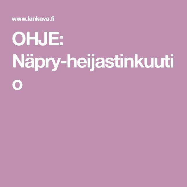 OHJE: Näpry-heijastinkuutio
