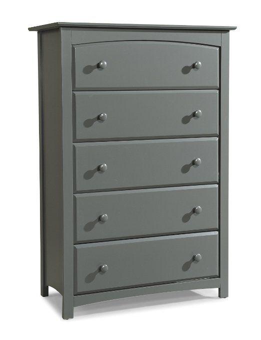 Best Amazon Com Stork Craft Kenton 5 Drawer Universal Dresser 400 x 300