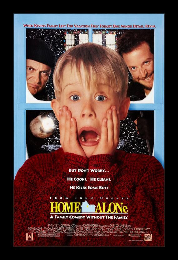 Home Alone - 11x17 Framed Movie Poster
