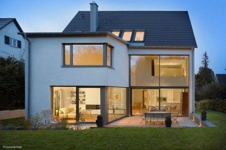 Satteldach Trifft Kubus Haus In 2019