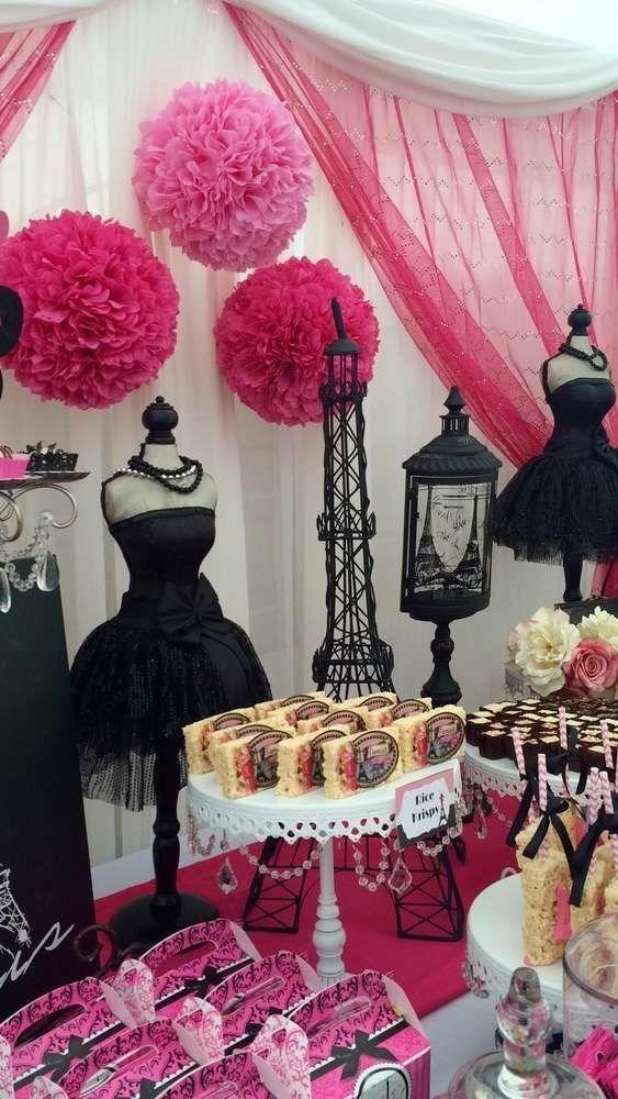 Decoraci n fiesta de 15 a os tem tica paris fiestas for Fiesta 60 anos decoracion