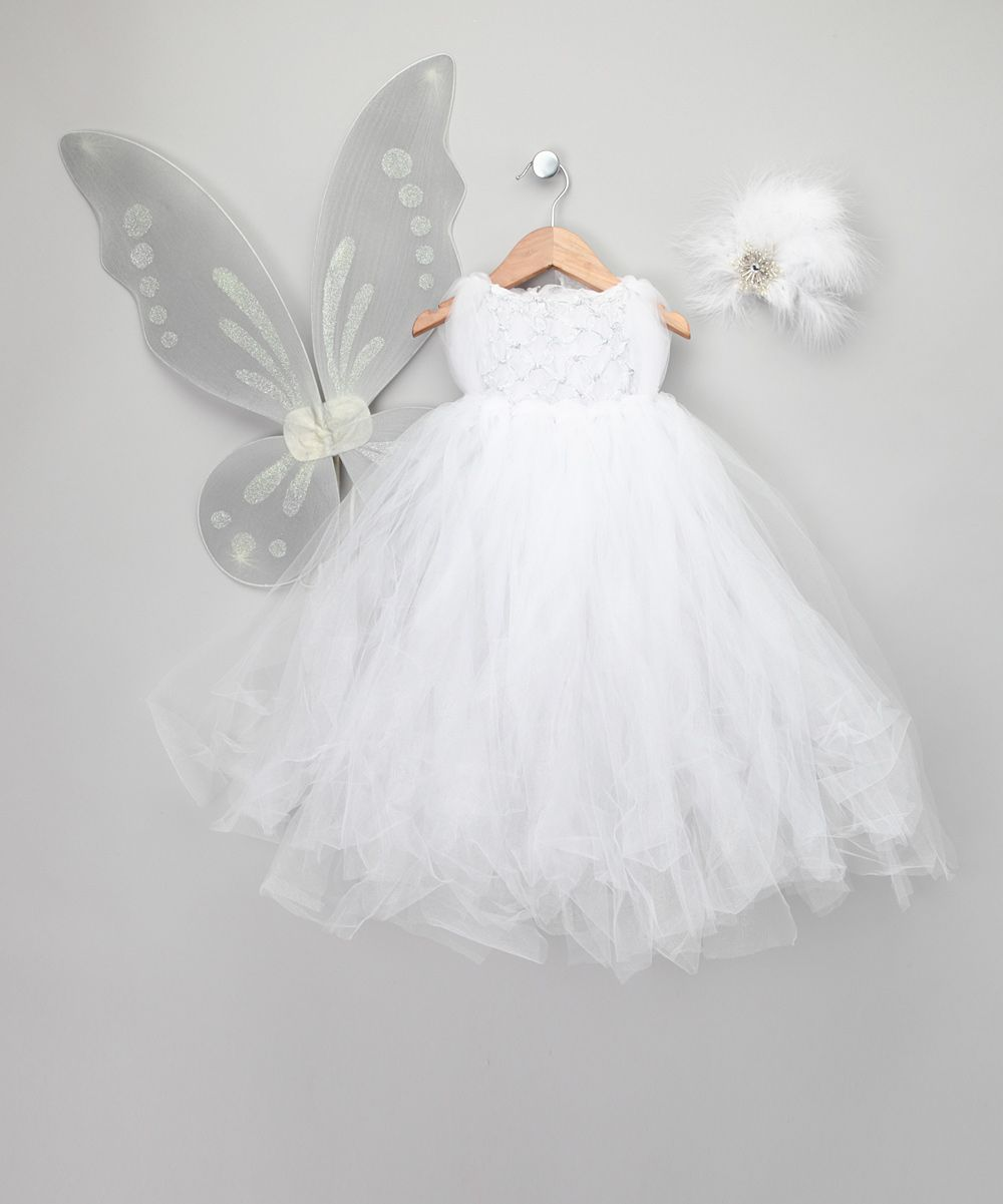 0c58e3e7ce White Snow Fairy Dress-Up Set - Infant   Toddler Enchanted Fairyware  Couture  99.99