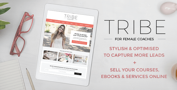 Tribe Coach - Feminine Coaching Business WordPress Theme | Escritorios