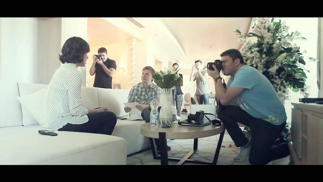 My Milla Jovovich photo shoot video backstaje