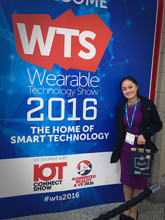 Our Wearable Tech Assistant, Rachael Yeung attended the