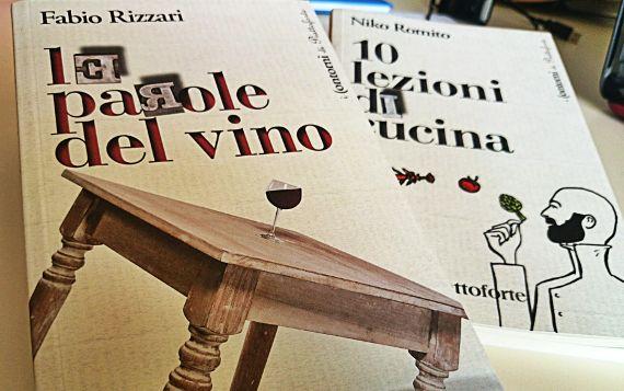 """I libri di Fabio Rizzari e Niko Romito della collana """"I Contorni di Piattoforte"""" da oggi sugli scaffali delle librerie."""