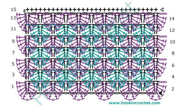 HookinCrochet™ - Crochet Symbols Font Software | tejido | Pinterest ...