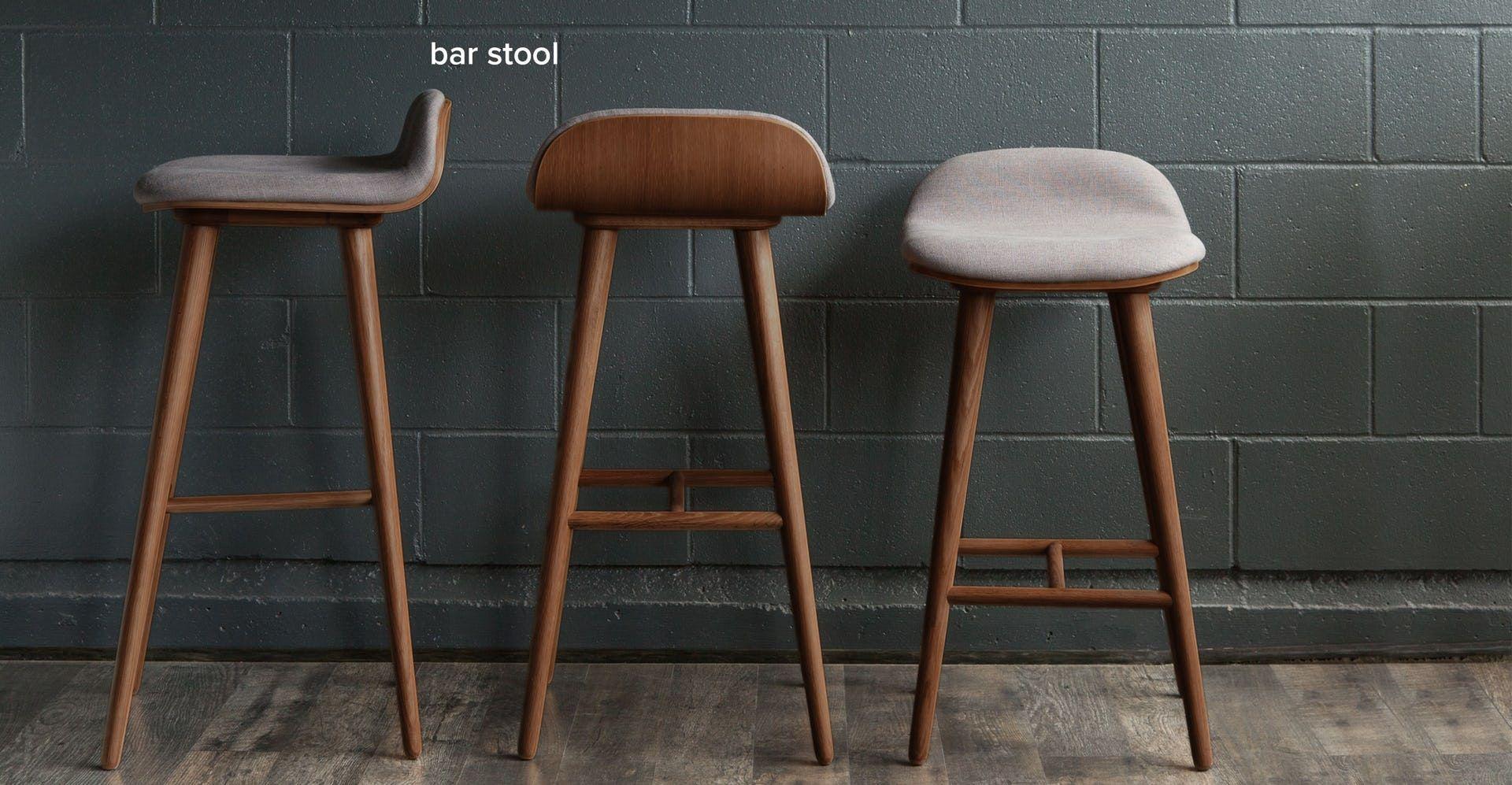 Sede Thunder Gray Oak Bar Stool Retro Home Decor Bar Stools Scandinavian Bar Stool