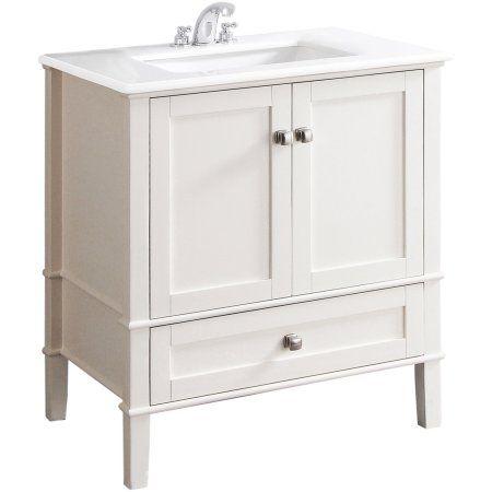 Free Shipping Buy Chelsea 30 Bath Vanity With White Quartz
