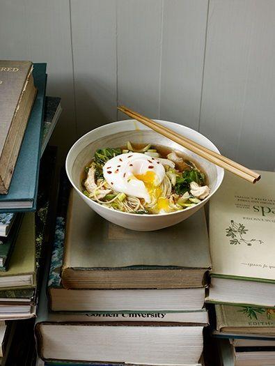Masturbation with noodles