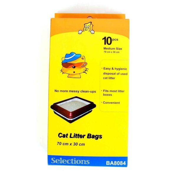 Cat Litter Bags 10 Pack Pet Accessories Cheap As Chips Cat