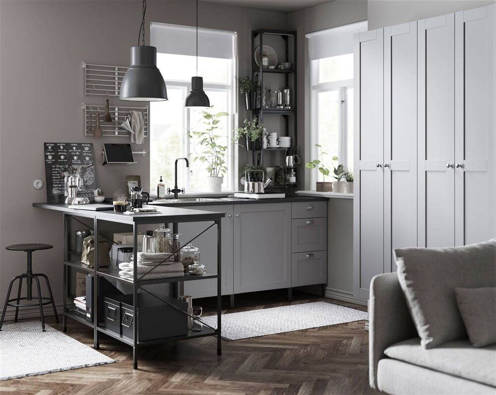 Ikea Catalog 2021 A Handbook For A Better Everyday Life At Home The Nordroom In 2020 Grey Ikea Kitchen Ikea Inspiration Ikea Kitchen