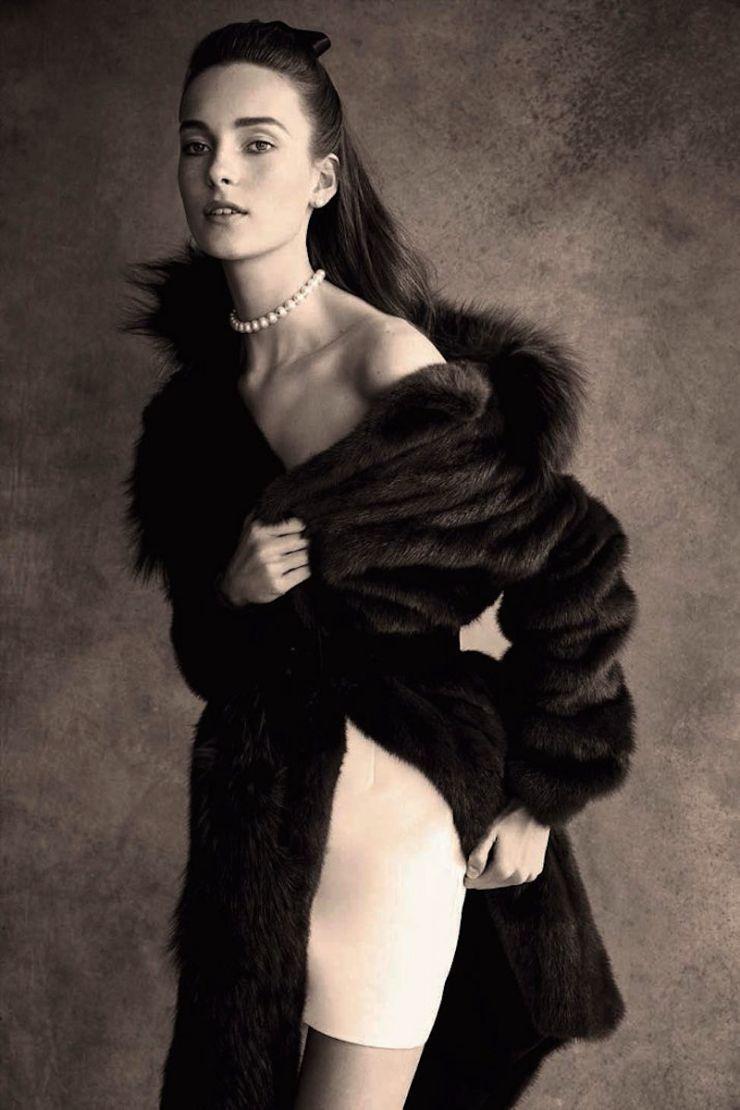 Patrick Demarchelier | Julia Bergshoeff, for Vogue Germany, September 2015