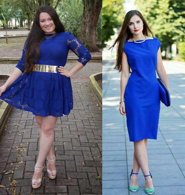 Q color de zapatos para vestido azul
