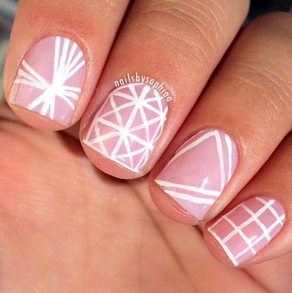80 classy nail art designs for short nails uas pinterest soft nail design for short nails 80 classy nail art designs for short nails prinsesfo Image collections