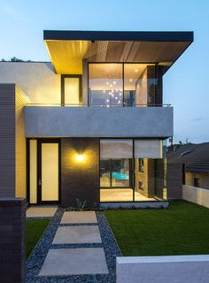 Hanson Residence - contemporary - exterior - los angeles - by Michael Lee Architects