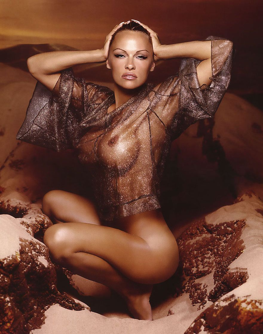 Pamela Anderson Sexy And Naked