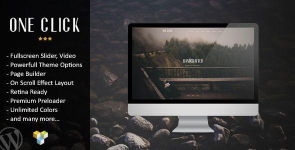 Parallax One Page WordPress Theme, por 48 dolares para la web de vindue seria perfecto